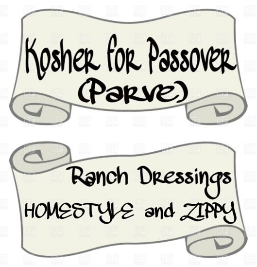 Kosher For Passover Two Parve Ranch Dressings Views From